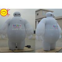 Cheap Baymax Mobile Inflatable Advertising Costumes Easily Folds Away For Compact Storage for sale