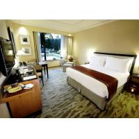Cheap Single Room Luxury Hotel Bedroom Furniture Solid Wood Movable Design for sale