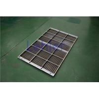 Cheap Stainless Steel Column Internal Trays , Dewatering Wedge Wire Support Grid for sale
