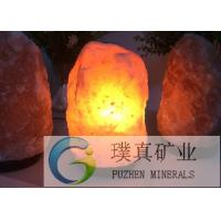 Cheap Hand carved natural crystal himalayan Rock Salt Lamp for aromatherapy for sale