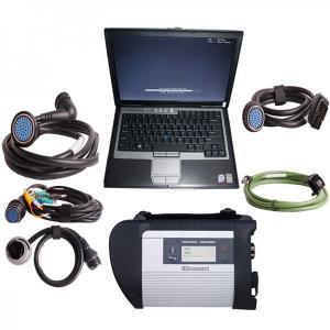 Cheap 2015.09V MB SD Connect Compact 4 Star Diagnosis Mercedes Benz Diagnostic Scanner plus Dell d630 laptop for sale