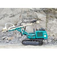 Cheap 90mm To 115mm 5.8T Dth Drilling Rig Machine , Hydraulic Drilling Rig Easy Operation  for sale