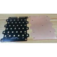 China High / Low Pure Copper Substrate PCB Plate Thickness 0.30mm For Communication Products on sale