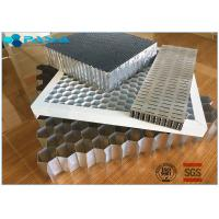 Cheap Aluminum Honeycomb Curtain Wall Core Board 0.06mm Thickness Glue Bonded for sale