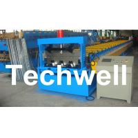 Cheap PLC Control Deck Roll Forming Machine For Floor Decking Panel, Metal Decking Sheet for sale