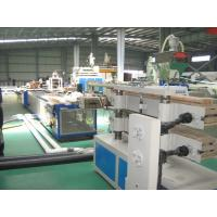 Cheap SJSZ 65 Wood Plastic Profile Production Line For PE , PP Foam Profiles for sale
