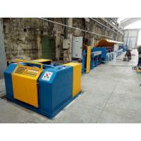 Cheap Automated ISO9001 Copper Wire Drawing Machine , Horizontal Welding Rod / Wire Nail Making Machine for sale