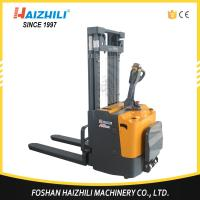Australia hot selling reach stacker 1000kg 1600mm electric stacker with cheap price