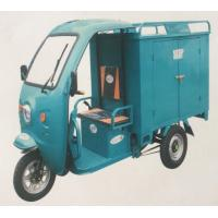 China 800KG Loading Capacity Three Wheel Motorcycle Delivery Tuk Tuk Tricycle Carriage Cabin on sale