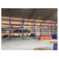 Cheap Corrosion protection Warehouse Storage Racks , Commercial Steel Selective Pallet Rack for sale