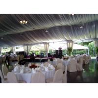 Temporary wedding party tent with lining for 300 people wholesale