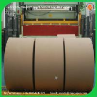 Cheap BMPAPER High Quality Brown Kraft Liner Paper/Kraft Paper/Kraft Paper Roll  for cement bags for sale
