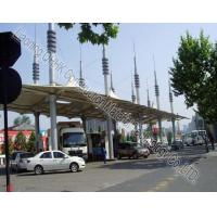 Cheap Security Space Frame Steel Structure Truss Purlin of Toll Station for sale