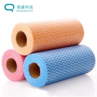 China Multipurpose Household & Workplace Disposable Sanitary Rolled Cloth on sale