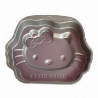 Cheap Hello Kitty Baking Form, Made of 0.5mm Carbon Steel, LFGB Standard for sale