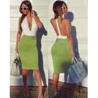 Cheap Anti - Wrinkle Deep V Neck Party Dress For Party / Club / Celebrity wholesale