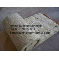 China Thermal insulation rock wool blanket with wire mesh/rockwool mattress insulation on sale