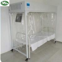 Cheap Movable Laminar Flow Bed Powder Coating Steel Low Noise Fan For Srious Patient for sale