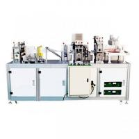 Cheap High Productivity Disposable Mask Making Machine , Medical Face Mask Machine for sale