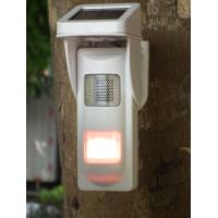 Cheap Outdoor Solar  Alarm Motion Detectors With Sound & Light Alert For Park Fire Fighting wholesale