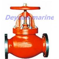 Cheap Marine Cast Iron Flanged Globe Stop Valves for sale