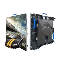 China Indoor Media Advertising P4 Rental LED Video Wall Panel on sale