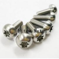 Quality GR5 6Al4V Titanium Ti mm Screws Torx T25 Head Titanium Disc Brake Rotor Bolts wholesale