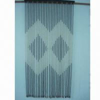 China Door Curtain, Made of Wooden Beads, Customized Sizes are Welcome on sale