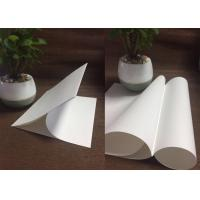 China White Bleached Kraft Liner Paper Bag Rolls Food Grade 120g Tear Resistance on sale