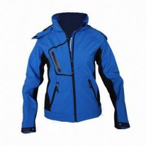 Cheap Waterproof Women's Softshell Jacket, Windbreaker, Fashionable Design for sale