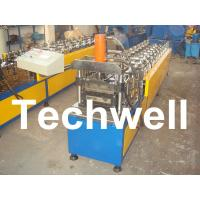 Cheap 10 Station Metal U Runner Roll Forming Machine For Light Steel Stud / Track for sale