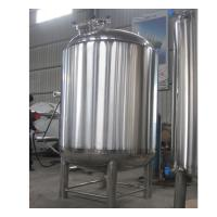 China Semi-Automatic Stainless Steel Hot Water Storage Tanks 2MM Thickness on sale