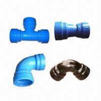 Cheap Socket Pipe Fittings, Made of Ductile Iron  wholesale