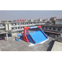 Cheap OEM Customized Lets Go Starting Line Insane Red Inflatable 5K Obstacle Course Games for sale