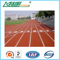 Buy cheap Athletic Synthetic Rubber Flooring / Polyurethane Sports Flooring 0.64 / 48 Friction from wholesalers