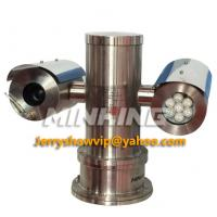 MG-FP600M22-R IR Explosion Proof PTZ Camera 22X 650TVL WDR IP68 304 316L Stainless Steel