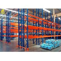 China Heavy Duty Warehouse Pallet Racking With Bolted And Welded Frames on sale