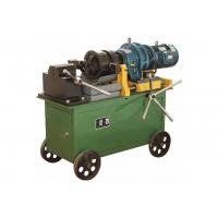 Cheap Max 40 Mm Portable Rebar Threading Machine With Wheels Heavy Duty for sale
