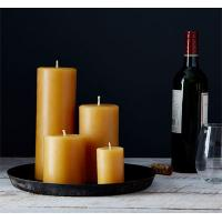 Cheap Wholesale Organic Beeswax Pillar Candles for sale