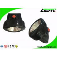 Quality High Lightness LED Mining Cap Lamp 6 - 8 Hours Working Time With Colorful PC wholesale