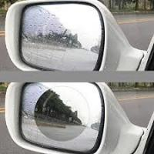 China Clear Anti Fog Mirror FilmRoll , Hydrophobic Mirror Cling Window Film on sale