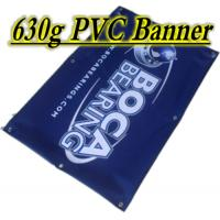 Quality Waterproof 510gsm Glossy / Matee PVC Vinyl Banners With Grommets wholesale