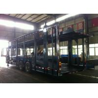 Cheap Auto Transport Commercial Car Carrier Trailer 8 Cars 8 Piece Leaf Spring Double Decker for sale