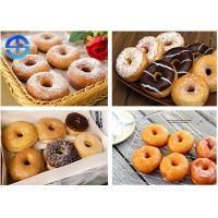 Cheap Fully Automatic Donut Fryer , Commercial Donut Ball Machine For Dessert Shop for sale