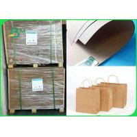 Cheap 80GSM -300GSM Environmentally Friendly Tear Resistant Brown Kraft Paper In Roll for sale