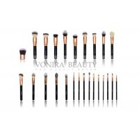 Cheap Private Label Rose Gold Makeup Brushes 25pcs Eye Makeup Brush Set for sale