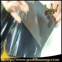 Cheap Black Color Static Glass Film /0.9m*30m/roll for sale