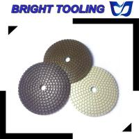 Cheap Wet or Dry Polishing 3 Step Polishing Pads for sale