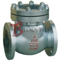 Cheap Bolted Bonnet Swing Check Valve , 150LB Automatic Check Valve A216 WCB for sale