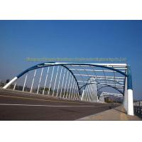Cheap Q235 Q345 Frame Multi Trusses Prefab Steel Frame Bridge With Drawing for sale